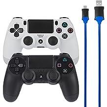 AmazonBasics - Controller-Ladekabel für die PlayStation 4 - 2er-Pack