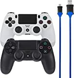 AmazonBasics - Controller-Ladekabel für die PlayStation 4 - 2er-Pack
