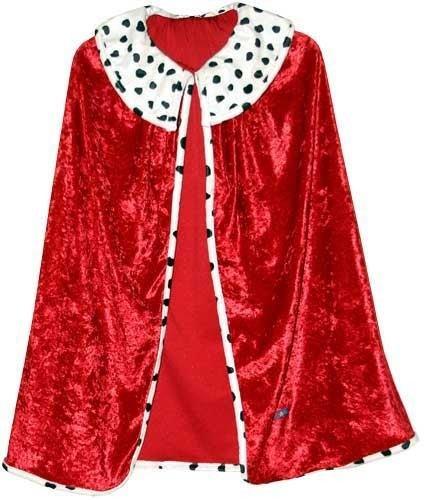 faschingskostuem koenig Trullala Königsumhang, Faschingsumhang, König-Kostüm, Kinderkostüm, Faschingskostüm, Größe: L (6-8 Jahre)