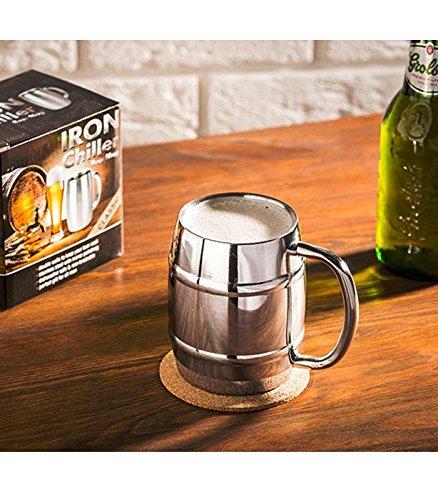 Mug inox pour la bière