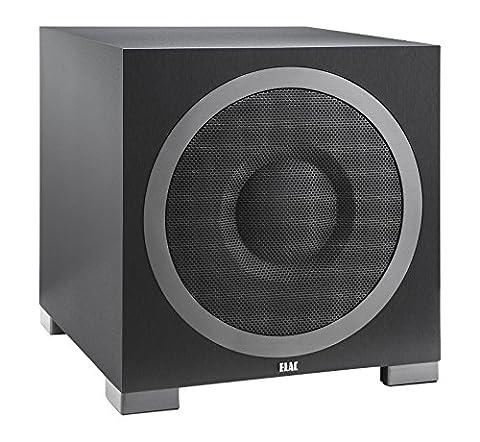 Elac Debut S12EQ Caisson de basses amplifié 1000 W Noir