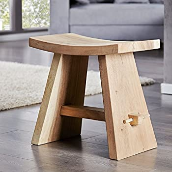 Hinoki De Bois Style Onsen Tabouret Umezawa Japonais Sauna Bain nvN0Ow8m