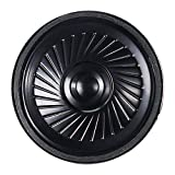 KESOTO Altavoz 40 * 5mm para DIY Sistema Interfonos, Altavoces Multimedia, Redon do, Negro, 2W, 8 Ohm (P40-8-2W)