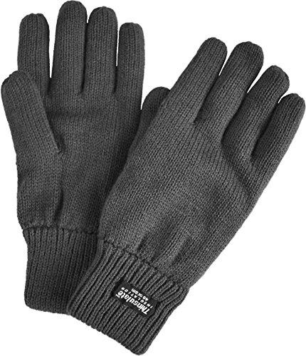 normani Strick Fingerhandschuhe mit Thinsulatefütterung Winterhandschuhe Farbe Anthrazit Größe XXL (Herren Thinsulate Handschuhe Xxl)