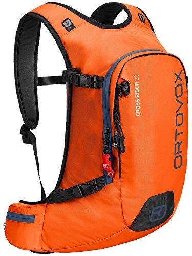 Ortovox Herren Cross Rider 20 Rucksack, Crazy Orange, 54 x 30 x 15 cm, 20 Liter