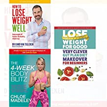 transform your body shape 4-week body blitz, how to lose weight well, very clever gut plan diet 3 books collection set - my complete diet, keep weight off forever, secrets of rapid weight loss