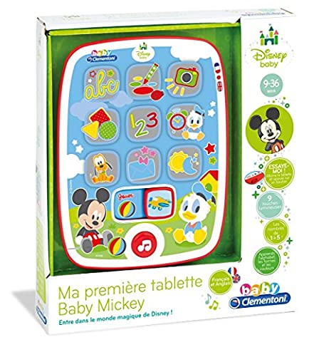 Clementoni - 62496-Tablette Baby Mickey-PREMIER AGE