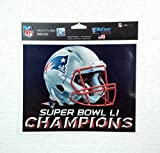 WinCraft NEW ENGLAND PATRIOTS Superbowl 51 Champions Decal (FREE UK POSTAGE!!!)