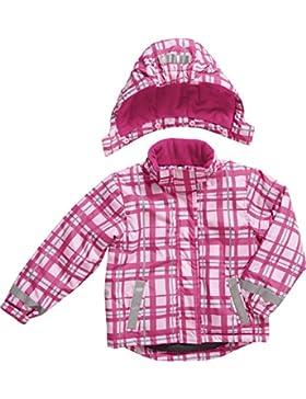 Playshoes Mädchen Schneeanzug Schnee-Jacke Karo Pink