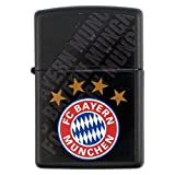 FC Bayern original Zippo Feuerzeug BLACK mit Logo