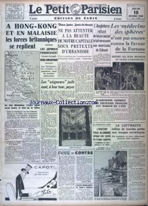 PETIT PARISIEN EDITION DE PARIS (LE) [No 23623] du...