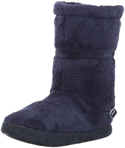 Joules Boys' Pad About Hi-Top Slippers, Blue (French Navy), 11-13 Child UK(29-32 EU)(M)