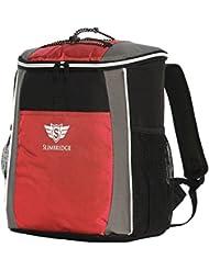 Slimbridge Brean mochila de picnic aislada, Rojo