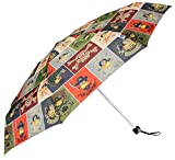 John's 5 Fold Atoms Minion Printed Umbrella