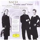 Bach : Violon et Voix