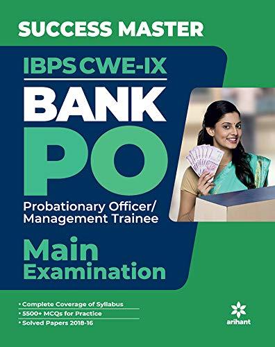 Success Master IBPS-CWE VIII Bank Bank PO/MT Main Examination 2019
