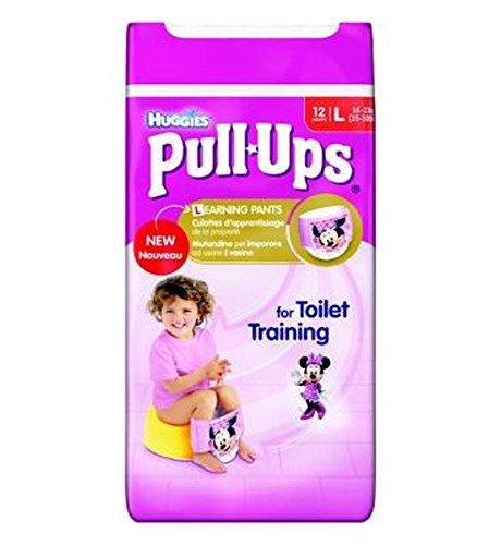 Huggies Pull-UpsDisney Dimensioni Principesse Ragazza 6 Vasino Formazione Pantaloni - 1 X 12 Pantaloni