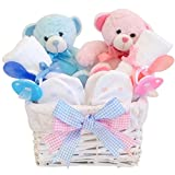 Angel Twin Boy & Girl Baby Gift basket/doppio - Best Reviews Guide