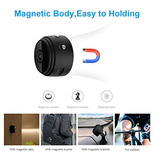Mini Camera 1080P Home Security Camcorder Hunting Small Hidden Cam Night Vision