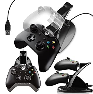Cotechs® - Dual USB Docking Station Charger Stand For XBOX One Controller (B00KBU92NA) | Amazon price tracker / tracking, Amazon price history charts, Amazon price watches, Amazon price drop alerts