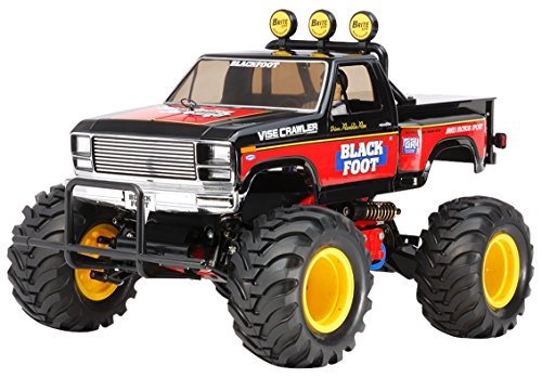 TAMIYA 58633 - 1:10 RC Blackfoot (2016), ferngesteuertes Auto/ Fahrzeug, Modellbau, Bausatz, Hobby, Basteln, Modell, Zusammenbauen