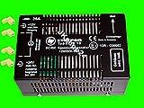 SPANNUNGSWANDLER 12 V/DC auf 24 V/DC mit UA-BEGRENZER | 10A-Spannung-Umwandler inkl. 4X Crimp-Winkelbuchsen | DCDC-KONVERTER Gleichspannung-Wandler/Aufwärtswandler mit E1/ECE-Zulassung