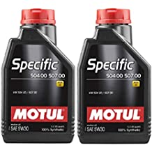 MOTUL Aceite Lubricante Specific VW 504.00 507.00 5w30, Pack 2 litros