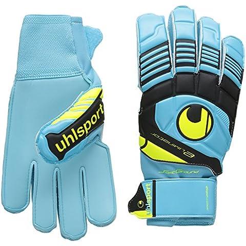 uhlsport Eliminator Soft - Guantes de portero para fútbol, color azul, talla 10.5
