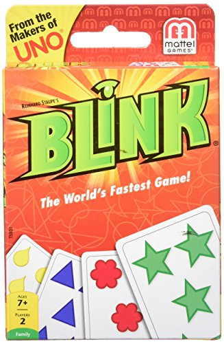 Mattel Reinhards Staupe\'s Blink the World\'s Fastest Card Game, Multi Color