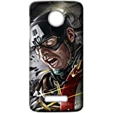 Mott2 Back Case For Motorola Moto Z2 Play | Motorola Moto Z2 PlayBack Cover | Motorola Moto Z2 Play Back Case - Printed Designer Hard Plastic Case - Captain America Theme - B075HG5B6S