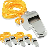 LionSports Trillerpfeife - Perfekt für Alle Sportarten und Aktivitäten - Mit zusätzlicher Aufbewahrungsbox und Halsband