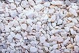 Kies Splitt Zierkies Edelsplitt Marmor Bianci 7-16mm Big Bag 500 kg