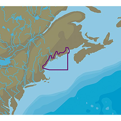 C-MAP NT+ NA-C330 Passamaquoddy Bay to Portsmouth - C-Card Format (Passamaquoddy Bay)