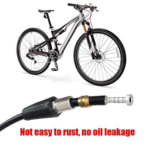 Alomejor Utensile da Taglio per Tubo Bici Taglierina del Cavo della Bicicletta Plastica Pinza per Olio Idraulico per Freni a Disco Commercio, Industria e Scienza