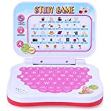FAVELA Angry Bird Study Game Mini Learning Laptop For Toddlers (Red)-Battery Operated