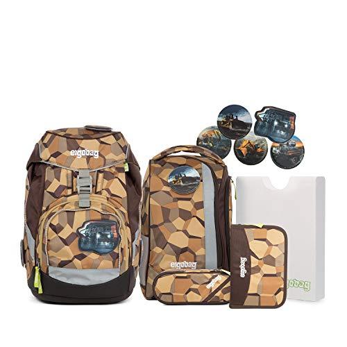 Ergobag Pack - Schulrucksack Set 6tlg. - Motive (Bergeversetzbär)