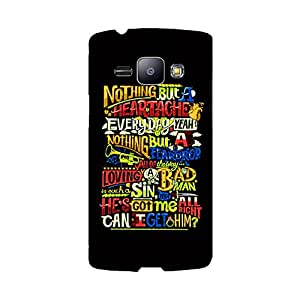 Skintice Designer Back Cover with direct 3D sublimation printing for Microsoft Lumia 535