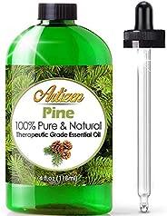 Artizen Pine Essential Oil (100% Pure & Natural - Undiluted) Therapeutic Grade - Huge 4oz Bottle - Perfect