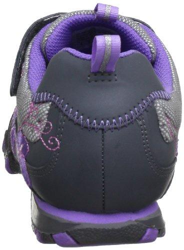 Skechers 996182L Gylv, Baskets mode fille Gris (Gylv)
