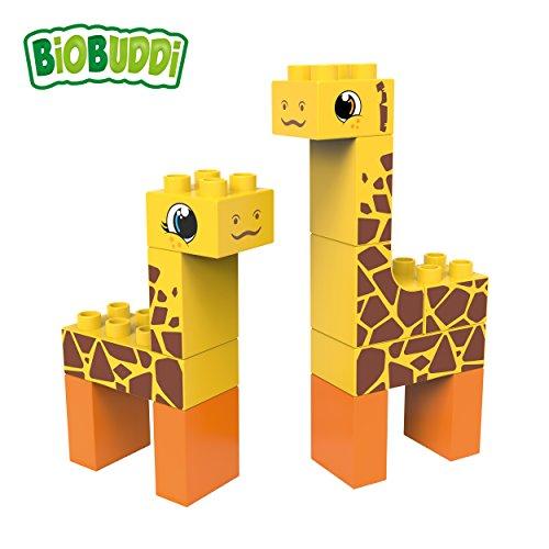 BIOBUDDI - Bloques construcción eco-friendlies jirafa
