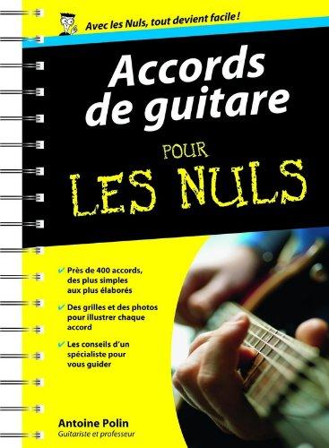 Accords de guitare Poche Pour les nuls par Antoine POLIN