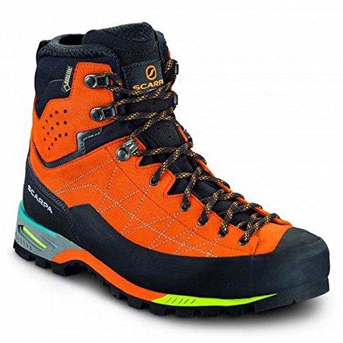 Scarpa Herren Alpine Bergschuhe orange 43