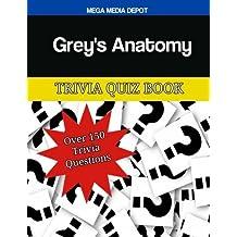 Grey's Anatomy Trivia Quiz Book