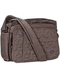 Lug Wings Cross Body Bag, Brushed Walnut Cross Body Bag