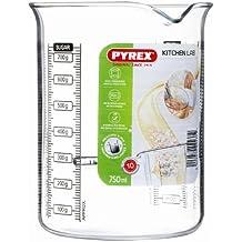 Pyrex 755040 Kitchen Lab Messbecher, 0,75 L