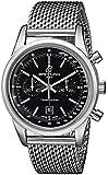 Breitling Men's 38mm Steel Bracelet & Case Automatic Black Dial Chronograph Watch A4131012-BC06