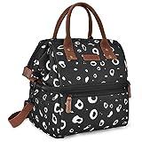 UtoteBag Sac Isotherme Repas Lunch Bag Portable Sac à Déjeuner Double Couche Grande...