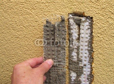 """Alu-Dibond-Bild 80 x 60 cm: """"Bauschaden"""", Bild auf Alu-Dibond"""