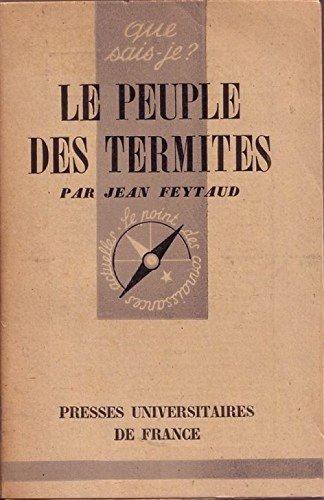 Le peuple des termites par Feytaud Jean