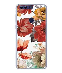 Fuson Designer Back Case Cover for Huawei Honor 8 (Girl Friend Boy Friend Men Women Student Father Kids Son Wife Daughter )